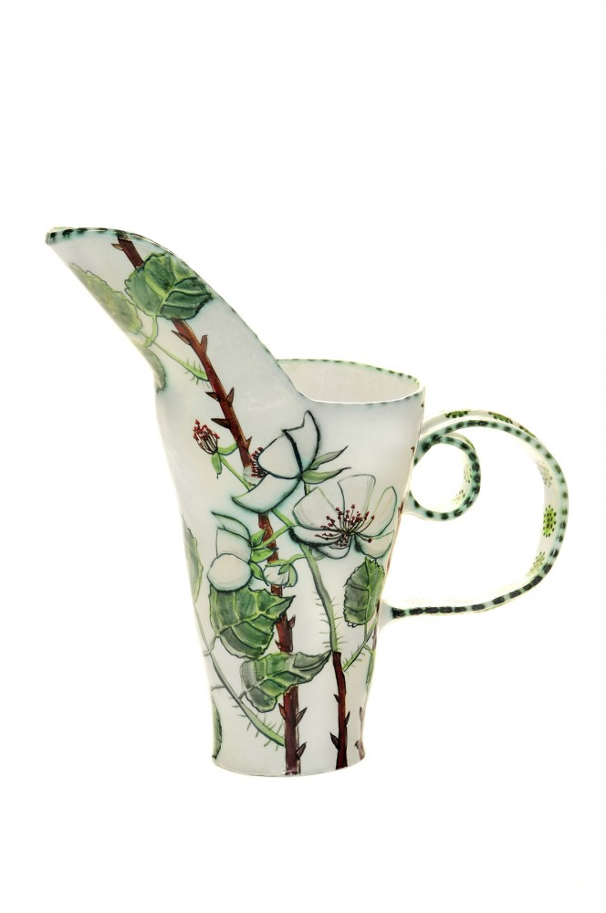 Shoreham Blackberry Pitcher by Fiona Hiscock